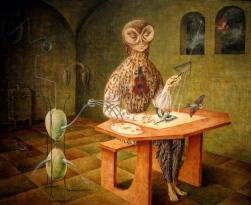 Remedios Varo, Creation of the Birds, 1957
