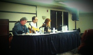 Charles Vess, Charles de Lint, Mary Ann Harris. Please excuse the crap quality of the photos!
