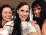 Kate, me, Kim: Dorset girls reunited!