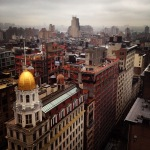 View of NYC from the Flatiron
