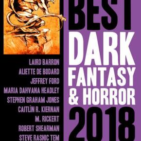 Cover reveal! Year's Best Dark Fantasy and Horror 2018